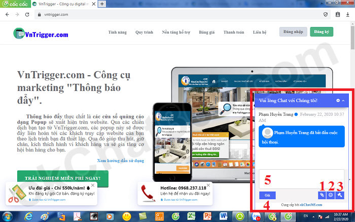Trực web tuyến online chat Online Image